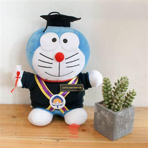 Boneka Doraemon Wisuda jual boneka doraemon wisuda large kado wisudaku