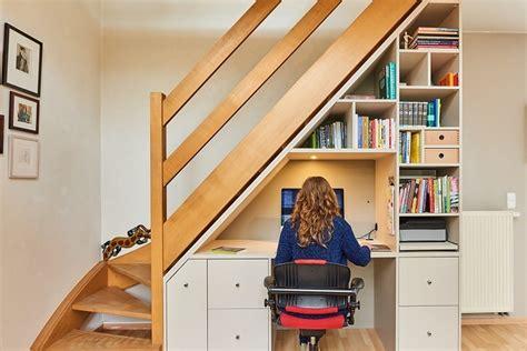 am駭agement bureau sous escalier opbergruimte rond en onder de trap optimaliseren in
