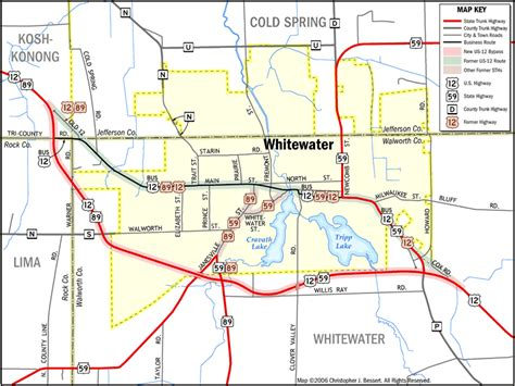 of wisconsin whitewater whitewater wisconsin map wisconsin map