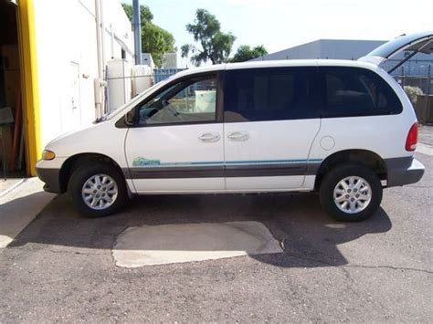 electric and cars manual 1999 dodge grand caravan electronic valve timing find used 1999 dodge minivan all electric epic cyrster electric in glendale arizona united