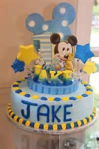 baby mickey mouse 1st birthday cake topper adianezh on artfire