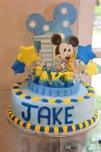 Baby mickey mouse 1st birthday cake topper adianezh children s on
