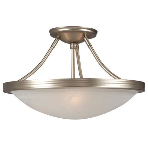 filament design negron 3 light pewter incandescent semi