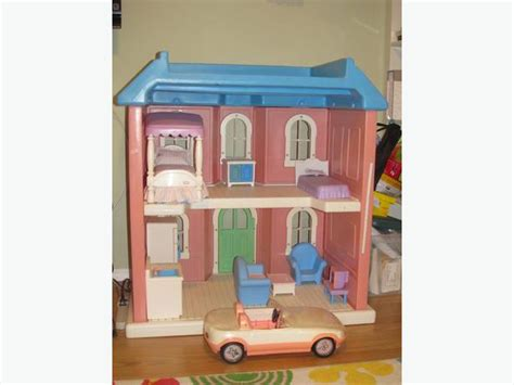 tall dolls house large doll house 3 feet tall furniture and dolls saanich victoria