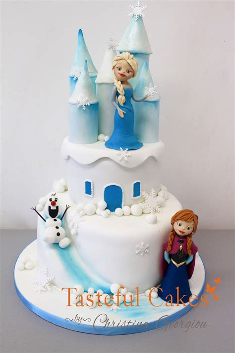 Freezer Cake cakes by georgiou frozen castle cake