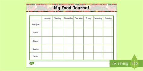 free printable food diary uk my healthy eating food journal healthy eating healthy