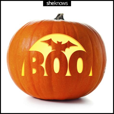 boo template pumpkin these pumpkin carving templates pretty much guarantee a