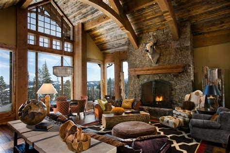 rustic home interior design ideas world of architecture 30 rustic chalet interior design ideas