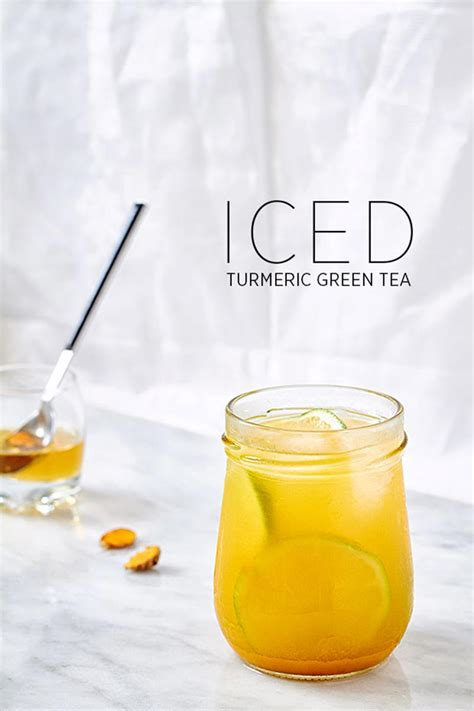 White Turmeric Detox by Iced Turmeric Green Tea Detox Recipe Corner