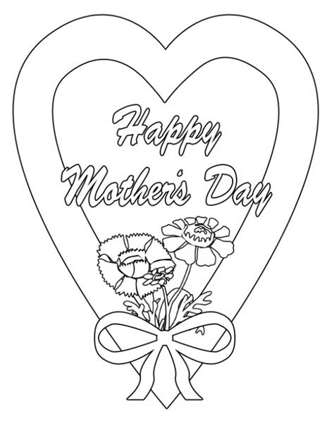 mothers day coloring pages happy s day coloring pages picture
