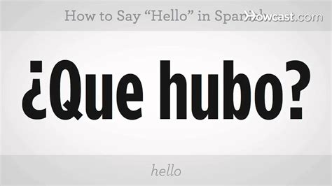 How To Say In by How To Say Quot Hello Quot Lessons