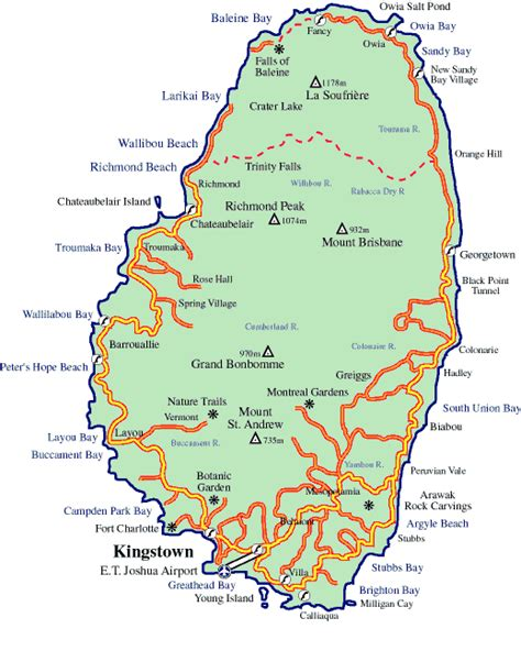 map of st vincent and the grenadines elder platt unplugged the are alive