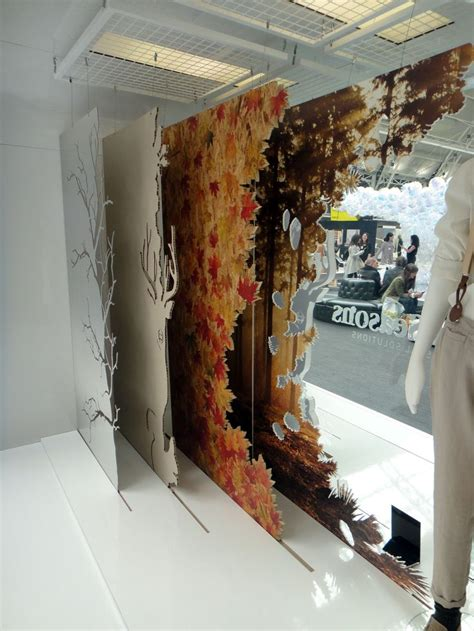 display gallery layered window graphics showroom ideas pinterest