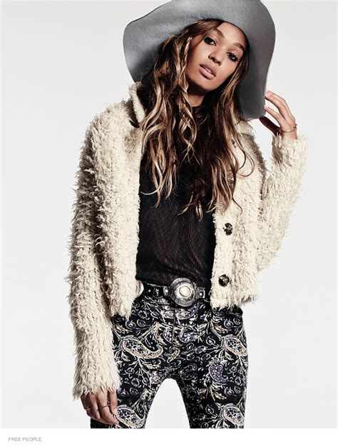 Supermodel Chic by Supermodel Joan Smalls Goes Boho Chic For Free