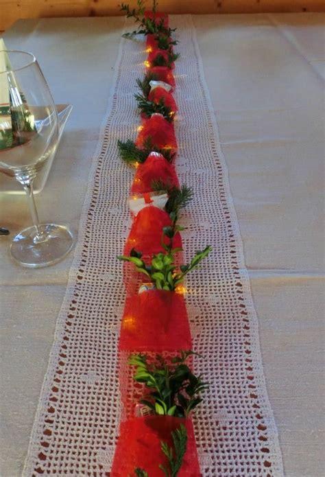 weihnachtsdekoration tisch selber machen weihnachtsdekoration f 252 r den tisch handmade kultur