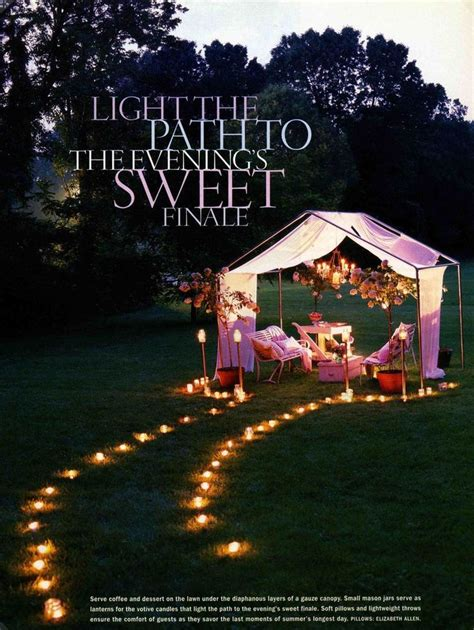 backyard proposal 22 best images about romantic dinner ideas on pinterest