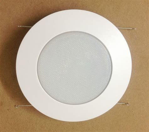 6 quot inch recessed can light shower trim frosted glass