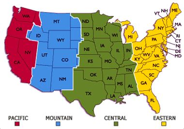 us map time zone wise time zones bandits cp ninjas