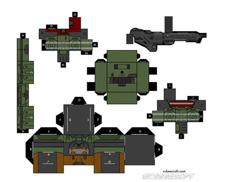 Papercraft Halo - minecraft papercraft halo weapons pictures to pin on