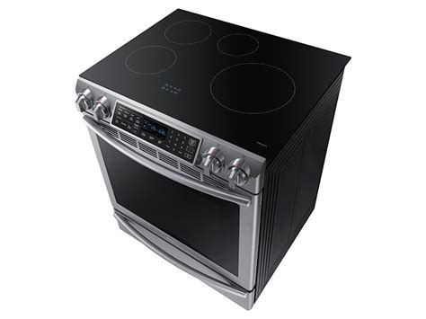 5 8 cu ft slide in induction range with ranges ne58k9560ws aa samsung us
