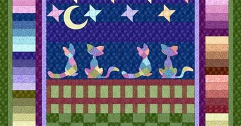 Cat Quilts For Sale by Cat S Out Free Quilt Pattern Cat Fabrics For