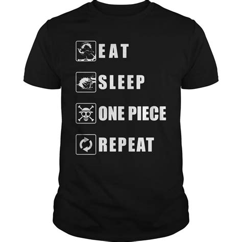 T Shirt Eat Sleep Repeat official about eat sleep one repeat t shirt v