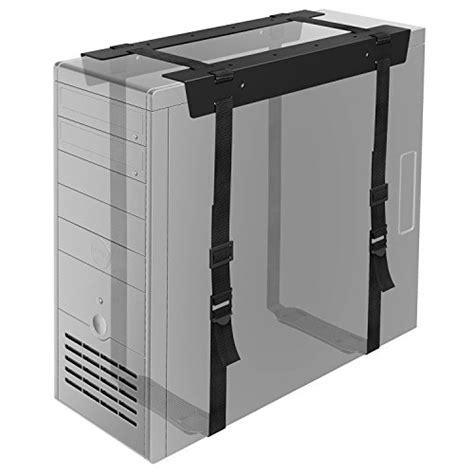 1homefurnit Under Desk Pc Cpu Holder Straps Computer Tower Desk Computer Bracket