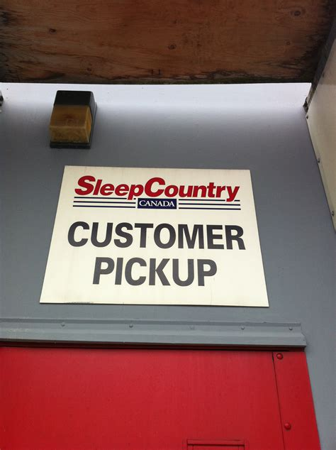 sleep country vancouver up and delivery service