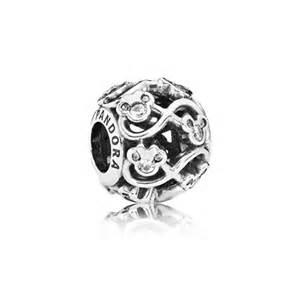 Pandora Infinity Charm Disney Minnie Mickey Infinity 791462cz Charms Pandora