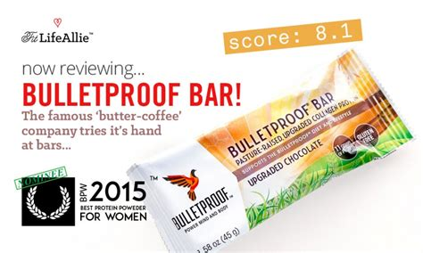 Top Ten Protein Bars by Bulletproof Bar Review Bad Texture But Still Worth It