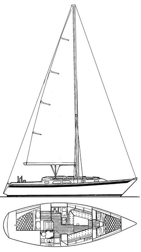 dinghy boat drawing ericson 34 2 drawing on sailboatdata boats