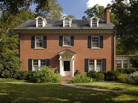 architectural styles of homes federal architecture hgtv