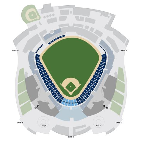 kauffman stadium map kauffman stadium map kansas city royals