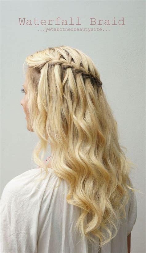 braided half up waterfall kids hair ideas pinterest six wedding hair styles 1 soft curly updo 2 half