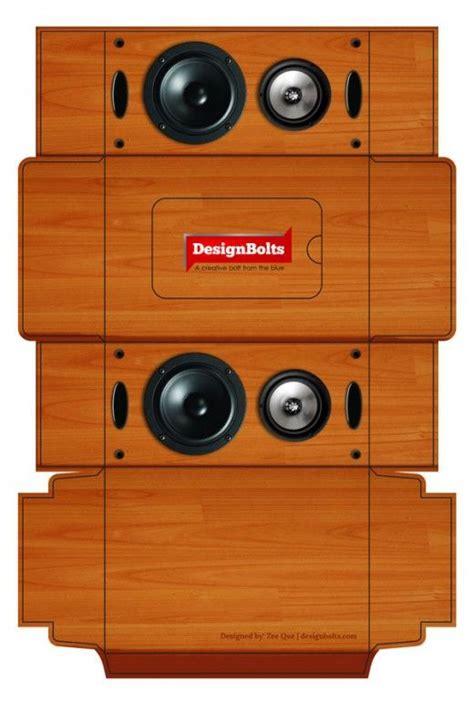 tissue box design template free wooden speaker tissue box packaging design psd
