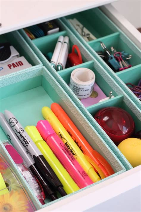 Desk Drawer Organizer Ideas Tips To Efficiently Organize Your Desk Drawers
