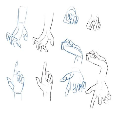 anime hand how to draw hand gestures hands and feet references