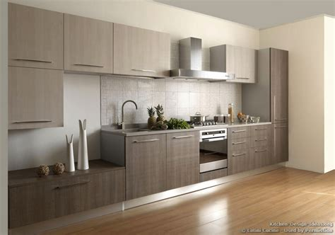 Grey Kitchens by Kitchen Cabinets Modern Wood Bews2017