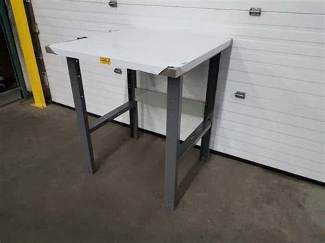 stainless bench top stainless steel top work bench commander warehouse equipment