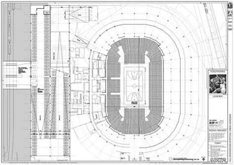 basketball arena floor plan remhaus studies diploma project quot warsaw arena quot event level