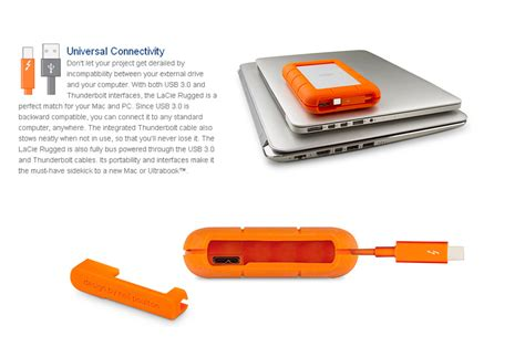 Rugged Thunderbolt by Rugged Thunderbolt 1tb Mobile Storage