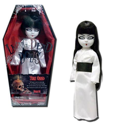frozen living dead doll ebay living dead dolls series 24 yuki onno 10 inch horror