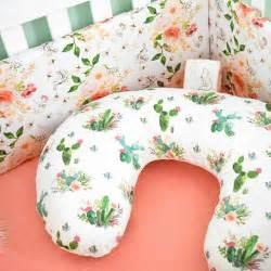 Social Baby Bedding Etsy Crib Bedding Pink And Green Baby Bedding Cactus