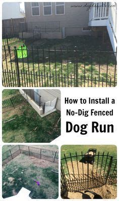 how to keep dog in yard 1000 ideas about outdoor dog runs on pinterest dog runs