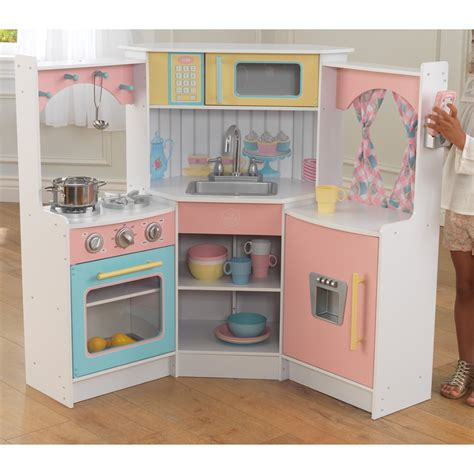 kidkraft deluxe corner play kitchen jet