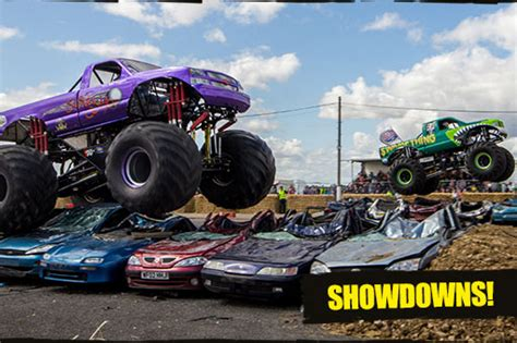 monster truck shows in uk monster truck nationals show santa pod raceway