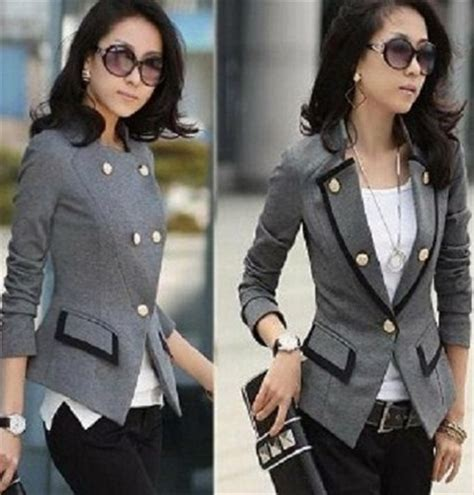 Jas Kerja Wanita 11 gambar contoh model blazer muslim terbaik oke