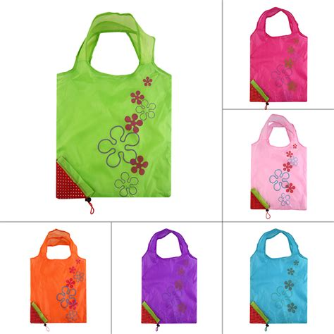 Foldable Bag Shopping 1 pc strawberry foldable shopping bag tote reusable eco friendly grocery bag 5y ebay