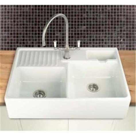 double ceramic kitchen sink villeroy boch berlioz 80 double bowl 895mm x 600mm apron
