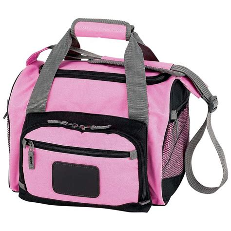 wholesale pink cooler bag with zip out liner buy